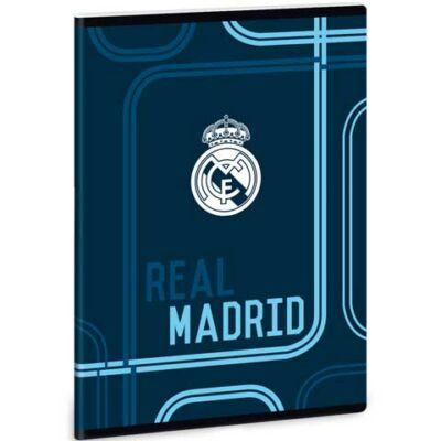 Real Madrid sima füzet A/5 kék