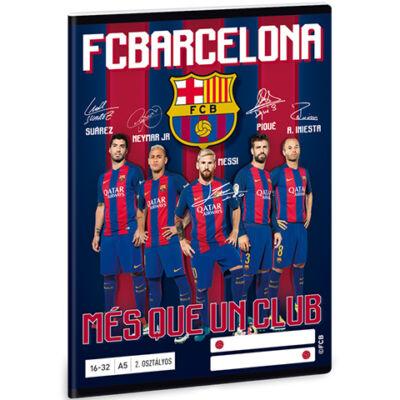 FC Barcelona vonalas füzet A/5 21-32
