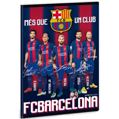 FC Barcelona prémium kockás füzet A/5-ös méretben