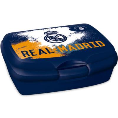 Real Madrid kék színű uzsonnás doboz