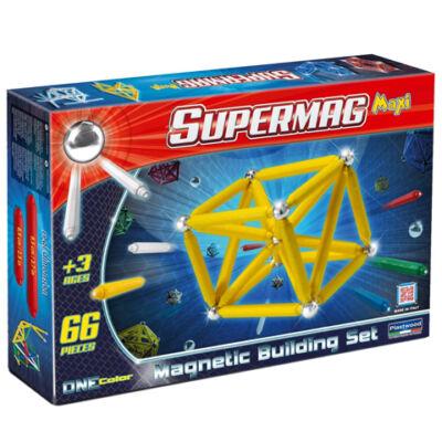 Supermag: Maxi ONE color 66 db-os mágneses játék