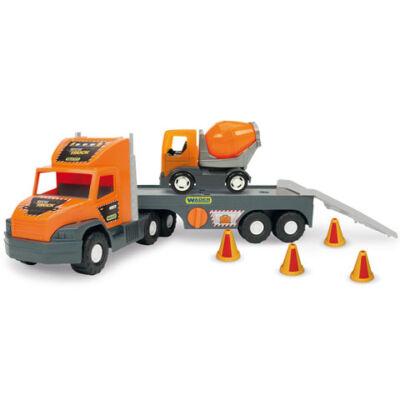 Super Tech Truck Betonkeverővel