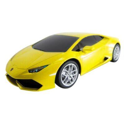 RC Lamborghini Huracán távirányítós autó sárga 1/24