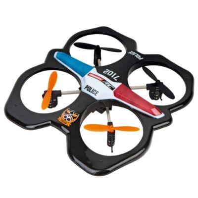 Carrera RC: Police távirányítós rendőrségi quadrocopter 2.4GHz