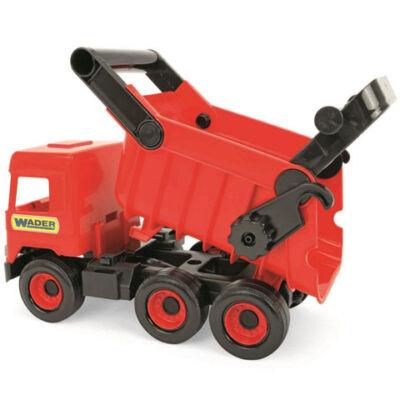Middle Truck: Billentős dömper 43cm piros