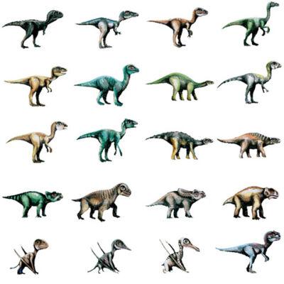 Dinoszaurusz figura 3D kártyával