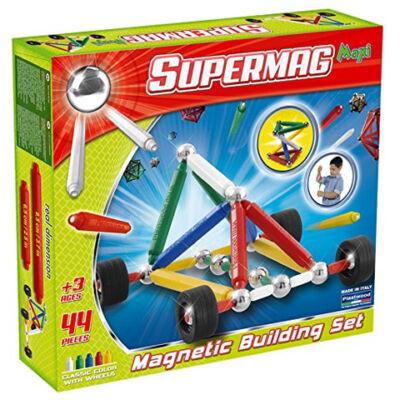 Supermag: Maxi Wheels 44 db-os mágneses játék