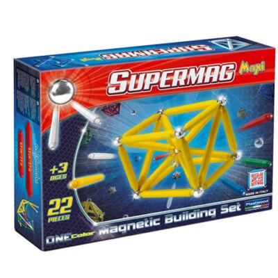 Supermag: Maxi ONE color 22 db-os mágneses játék