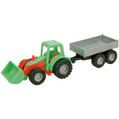 LENA: Mini compact traktor pótkocsival 26cm