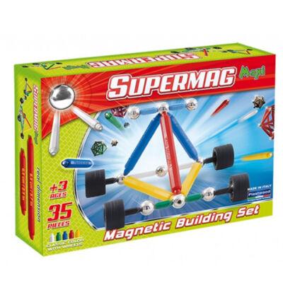 Supermag: Maxi Wheels 33 db-os mágneses játék