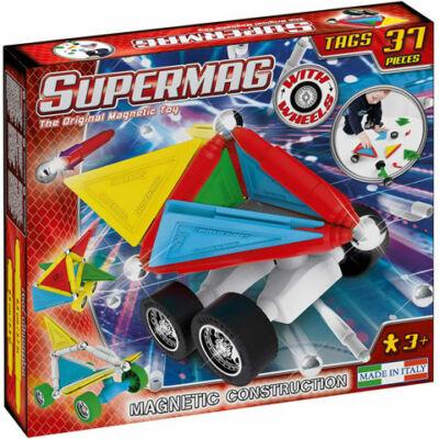 Supermag: Tags Wheels 37 db-os mágneses építőjáték