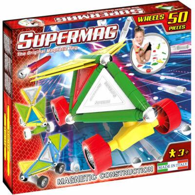 Supermag: Tags Wheels 50 db-os mágneses építőjáték