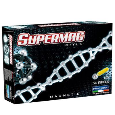 Supermag: Style 50 db-os mágneses játék
