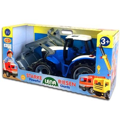 LENA: Óriás traktor homlokrakodóval és markolókanállal 65cm