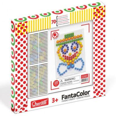 Quercetti: Fantacolor pötyi bohóc 70 db-os