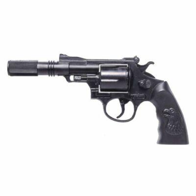 Buddy 12 lövetű rózsapatronos pisztoly hangtompítóval