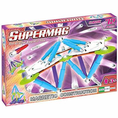Supermag: Classic Trendy 72 db-os mágneses építőjáték