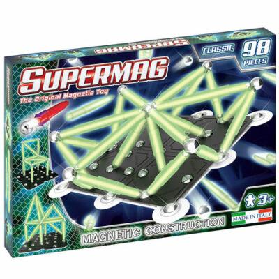 Supermag: Classic Glow 98 db-os mágneses építőjáték