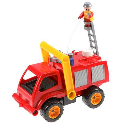 LENA: Tűzoltóautó vízpumpával és figurával 31cm