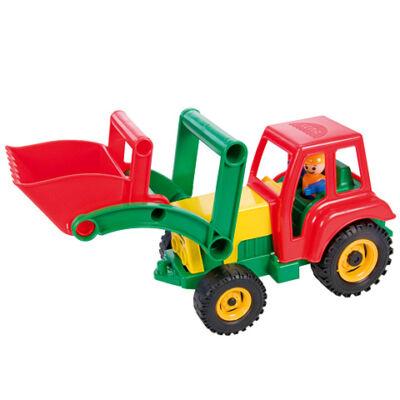 LENA: Homlokrakodó traktor figurával 35cm