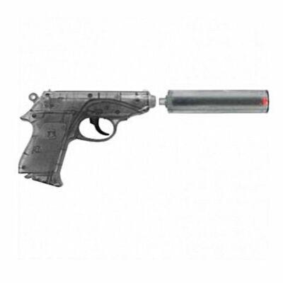 Special Agent PPK rózsapatron füzéres pisztoly hangtompítóval