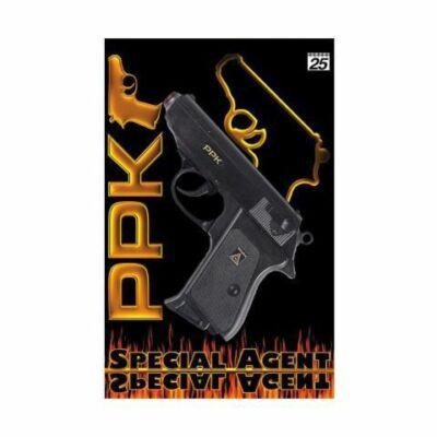 Special Agent PPK fekete rózsapatron füzéres pisztoly