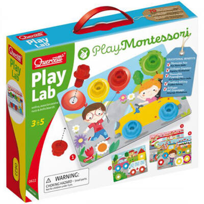 Quercetti: Montessori Csavaros fejlesztőjáték