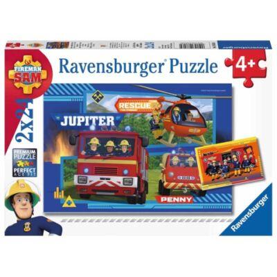 Ravensburger: Sam a tűzoltó 2×24 db-os puzzle