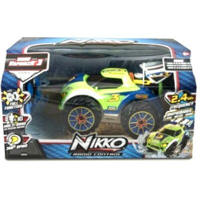 Nikko RC Nano VaporizR 3 zöld távirányítós autó