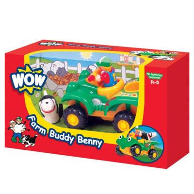 Benny, a farmer quad