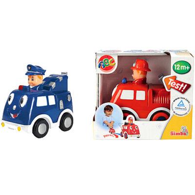 ABC Nyomd és megy kisautó 2 változatban – Simba Toys