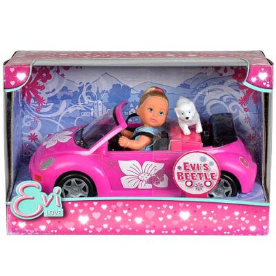 Steffi Love Évi + Volkswagen Beetle – Simba Toys