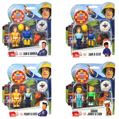 Sam a tűzoltó figuraszett több változatban- Simba Toys