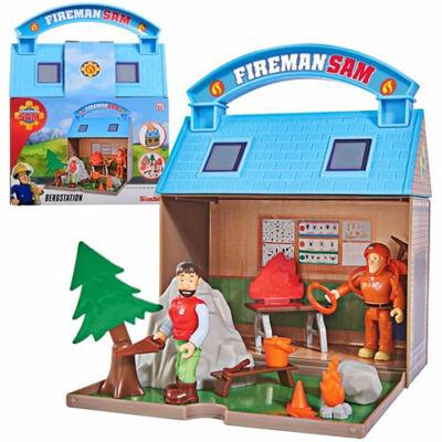Sam a Tűzoltó: Hegyimentő központ játékszett figurákkal - Simba Toys