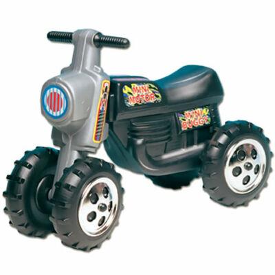 Lábbal hajtós fekete cross motor 4 kerékkel – D-Toys