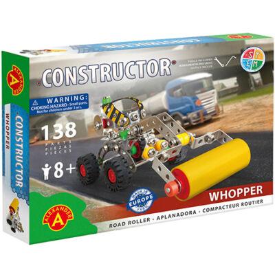 Whopper úthenger fém építőjáték 138 db-os
