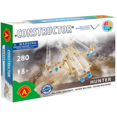 Hunter repülő fém építőjáték 280 db-os