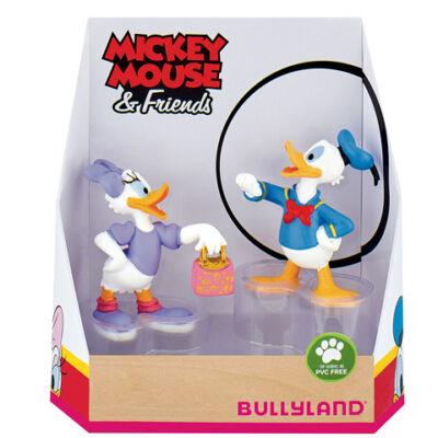 Walt Disney: Donald és Daisy kacsa 2 db-os játékfigura szett – Bullyland