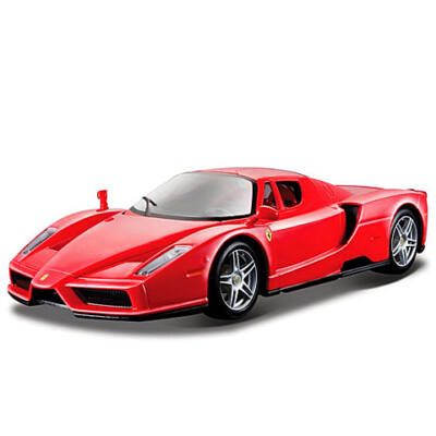Bburago: Ferrari Enzo fém autó piros színben 1/24