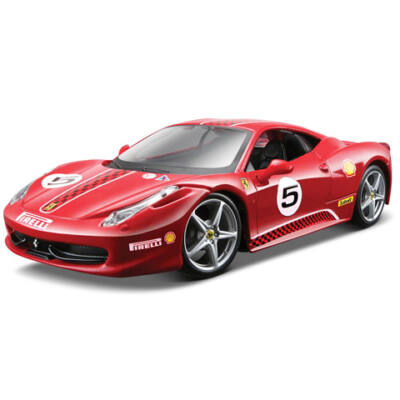 Bburago: Ferrari 458 Challenge fém kisautó 1/24