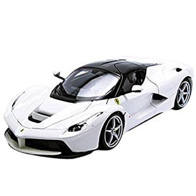 Bburago: Ferrari LaFerrari fehér fém autómodell 1/43