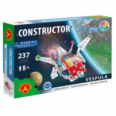 Felfedező űrhajó modell fém építőjáték 237 db-os