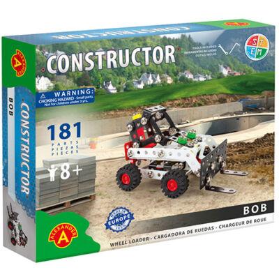Bob targonca úthenger fém építőjáték 181 db-os