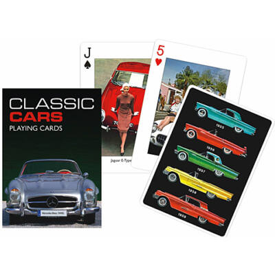 Klasszikus autók römi kártya 55 lapos – Piatnik