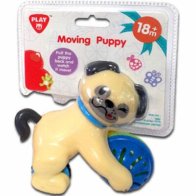 Playgo: Hátrahúzható csörgős kutyus