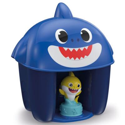 Baby Shark építőkocka szett figurával többféle változatban – Clementoni