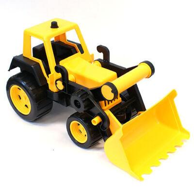 Traktor homlokrakodóval 48 cm