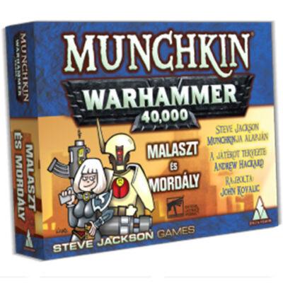 Munchkin Warhammer 40.000 Malaszt és Mordály társasjáték kiegészítő