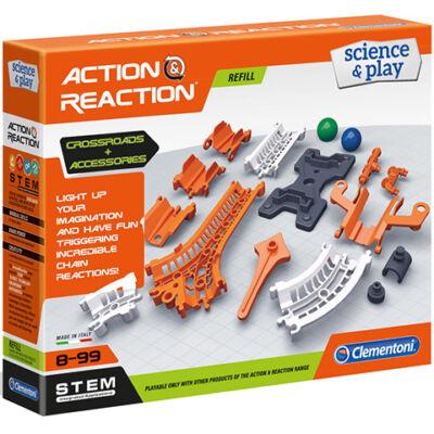 Hatás-Ellenhatás kiegészítő pályaelemek tudományos játék – Clementoni