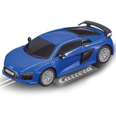 Carrera Digital 143: Audi R8 V10 Plus kék pályaautó 1/43